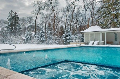 perfect for New England!Swimming Pools, Winter, Polar Bears, Keep Swimming, Platinum Poolcar, Chicago, Hot Tubs, Traditional Pools, Pools Design