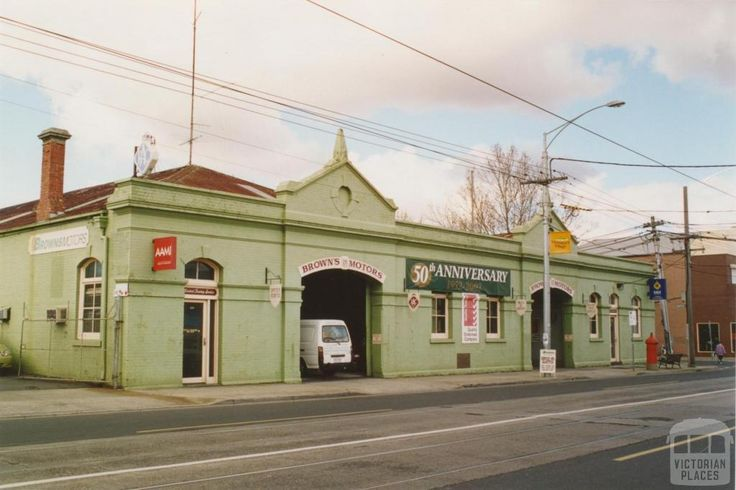 Former cable engine house, High Street, Thornbury, 2005