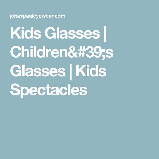 Kids Glasses | Children's Glasses | Kids Spectacles