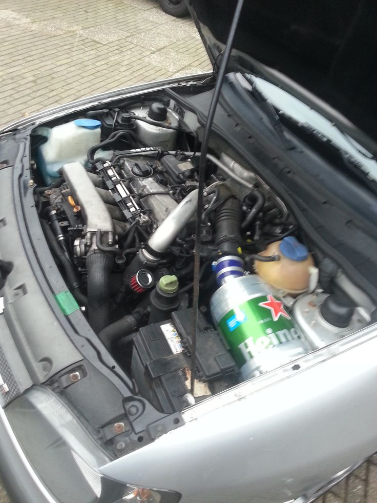 1.8 20vt AYP with self made Heineken air filter protector
