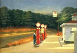 """[10] """"It sure is lonely here. Not one damned customer tonight!"""" Edward Hopper. http://maryemartintrilogies.com/?p=7297 #American #art"""
