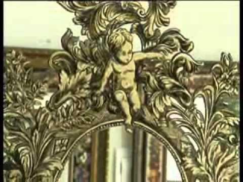 Декоративная роспись зеркал Флеры Даминовой