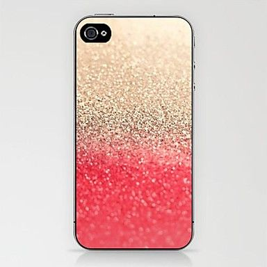 Gold to Red Pattern Case for iPhone 4/4S – EUR € 1.91