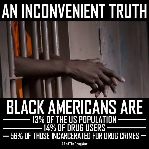 Our black society are crowding the jails. Blacks are incarcerated for crimes easier than other races. The estimated population of black men in prison is calculated from their literacy rate in elementary school.
