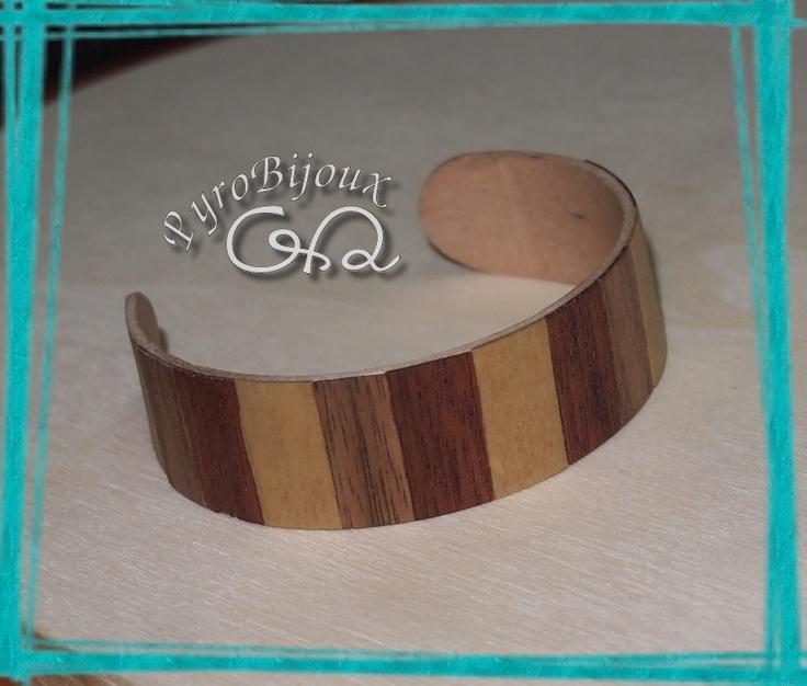 bracciale in legno