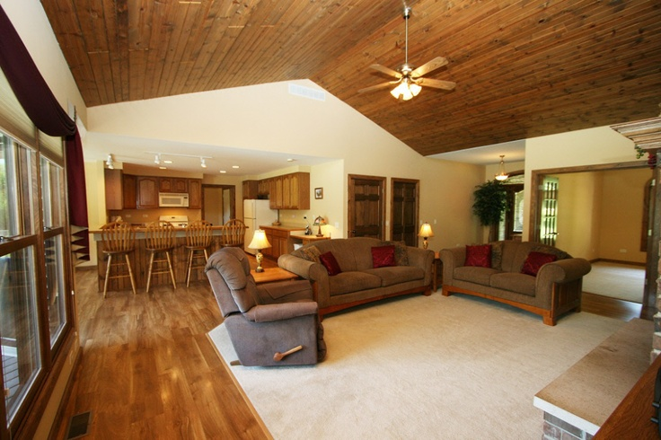 Knotty Pine Ceiling Home Ceiling House New Homes