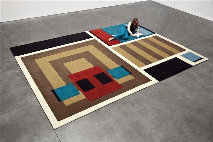 Andrea Zittel, A-Z Carpet Furniture: Cabin, 2012