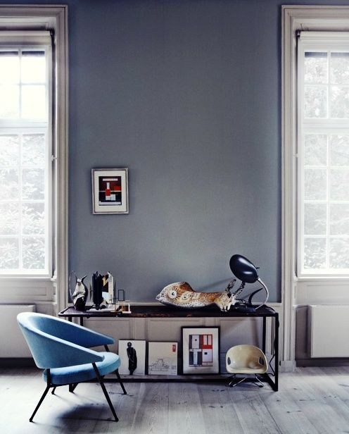 Beautiful blue chair #stuffdot