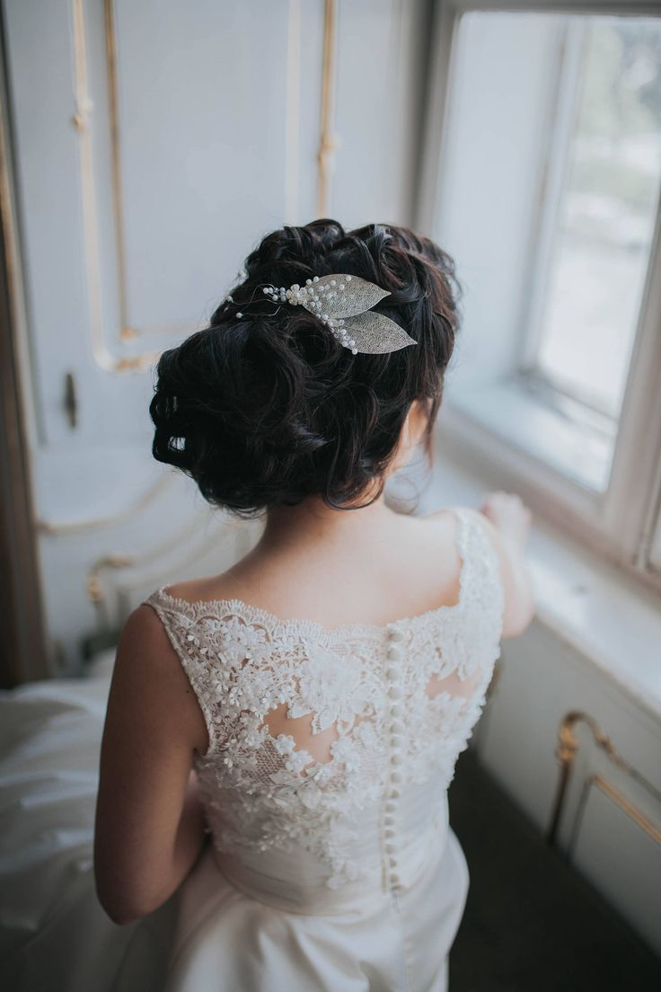 A personal favourite from my Etsy shop https://www.etsy.com/listing/511480753/bridal-accessories-leaf-hair-pin-hair
