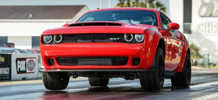 Here's exactly how the Dodge Challenger SDemon hits 0-60 in 2.3 seconds.