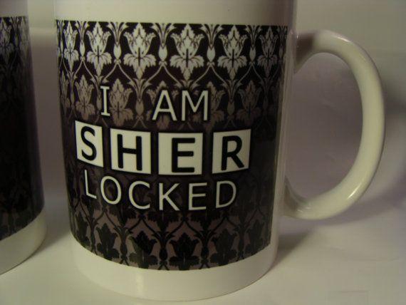 I am Sherlocked Mug