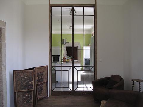 Chateau de Digoine - Oude ruimte keuken is nu extra kamer