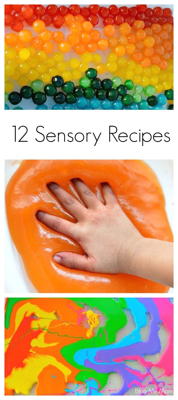 {Guest Post}  Twelve Sensory Play Recipes by Blog Me Mom for Fun at Home with Kids