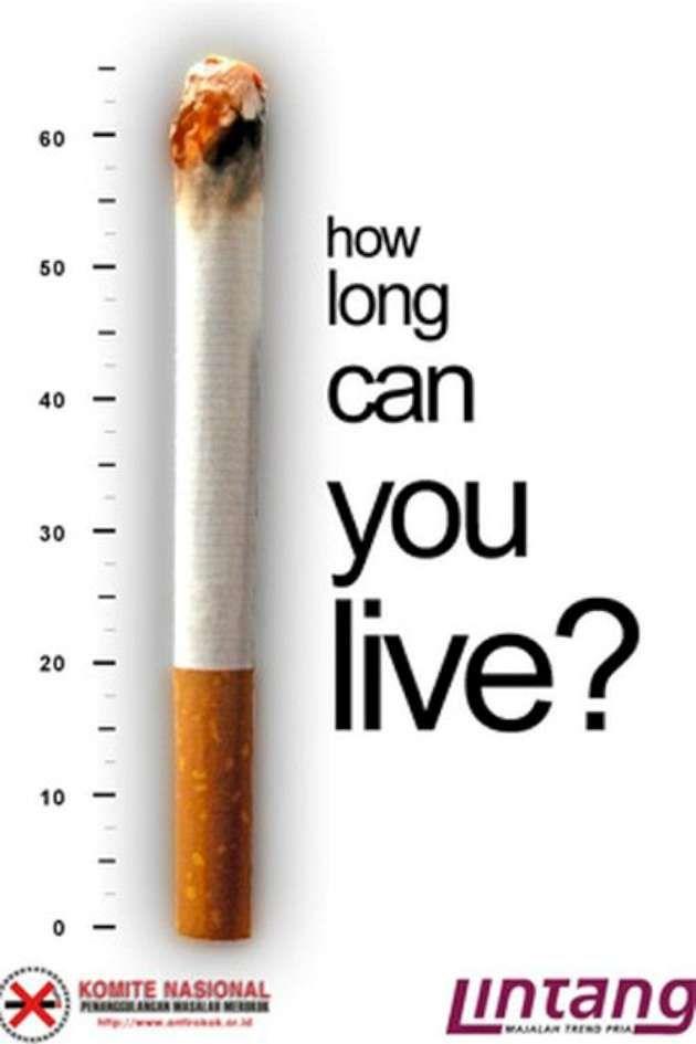 Creative anti-tobacco ads (43 Pics)