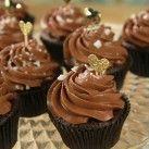 Dubbel chocolate cupcakes med havssalt