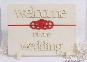 和婚におすすめ*和風ウェルカムボードのデザインまとめ♡ | marry[マリー]
