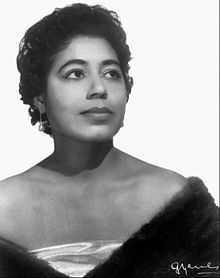 Mattiwilda Dobbs in 1957. Mattiwilda Dobbs (born July 11, 1925) is an African-American coloratura soprano and one of the first black singers to enjoy a major international career in opera. Possessing a small but buoyant voice, Dobbs was admired for her refined vocal technique and lively interpretations...Mattiwilda Dobbs's coloratura soprano was praised for its freshness and agility, as well as tonal beauty.