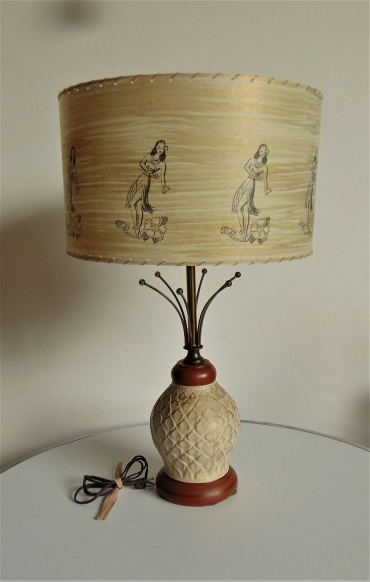 Mid Century Lamp Shades New 467 Best Mid Century Lamp Shades Images On Pinterest  Vintage Lamps Design Inspiration