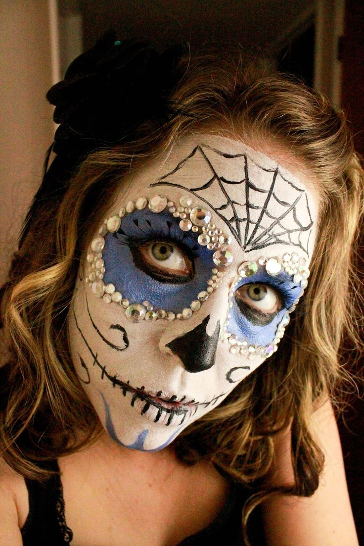 "From Dahlias to Doxies: ""Dia de Los Muertos"" Sugar Skull Face Paint Tutorial"