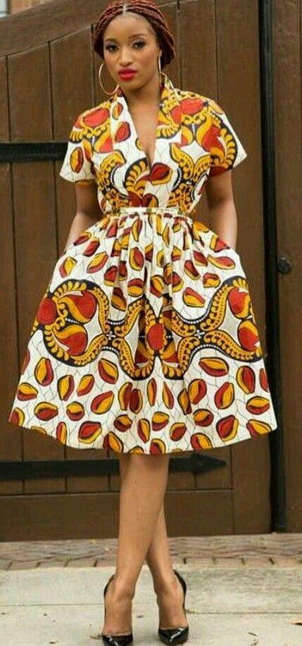 ♡Beautiful African Print in Fashion
