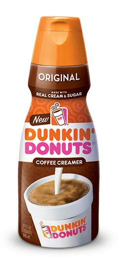 Meet Our New Lineup of Creamers | Dunkin' Donuts  Cannot wait to try!!!!!!!!