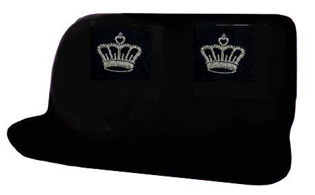 Princess crown back seat covers