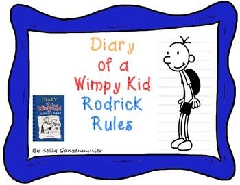 Over 50 pages of chapter by chapter questions for Diary of a Wimpy Kid Rodrick Rules. Your students will thrive on mastering comprehension techniques with a popular high interest text.