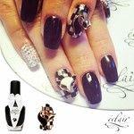 Karnawał jeszcze trwa - zabłyśnij :) #eclair #eclairnail #eclairinspirations #nail #nailart #nailporn #nailswag #blingbling #blacknails #gol...