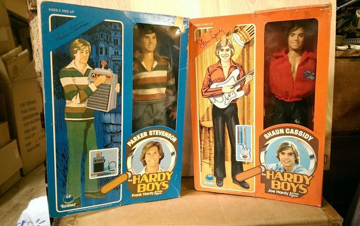 1978 Kenner The Hardy Boys Dolls Shaun Cassidy and Parker Stevenson with boxes   eBay