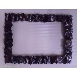 Frame design Wrought Iron for Mirror or Photo. 85 x 115 cm. Color Transparent Finish Rust. 850