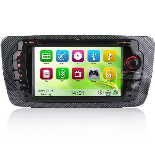 """Ebay Angebote MP3 USB FM Adapter für Autoradio 7"""" Autoradio Für SEAT IBIZA 2009-2013 GPS Sat Nav Canbus BT 3G DVD USB SD…%#Quickberater%"""