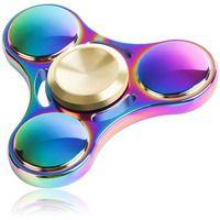 Fidget Spinner Rainbow UFO Fade