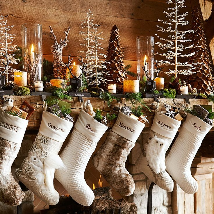 510 Best Christmas Stockings Images On Pinterest