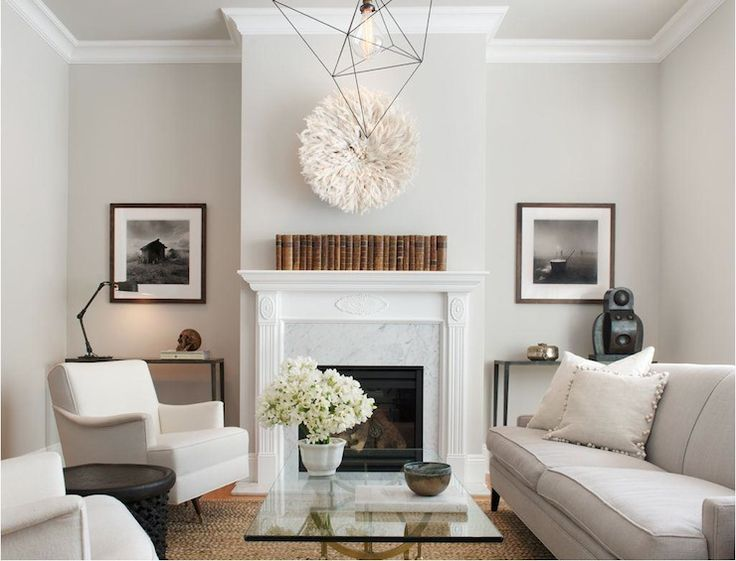 Simple Modern Living Room Design: Simple, Modern, Marble Fireplace From Wick Design Via
