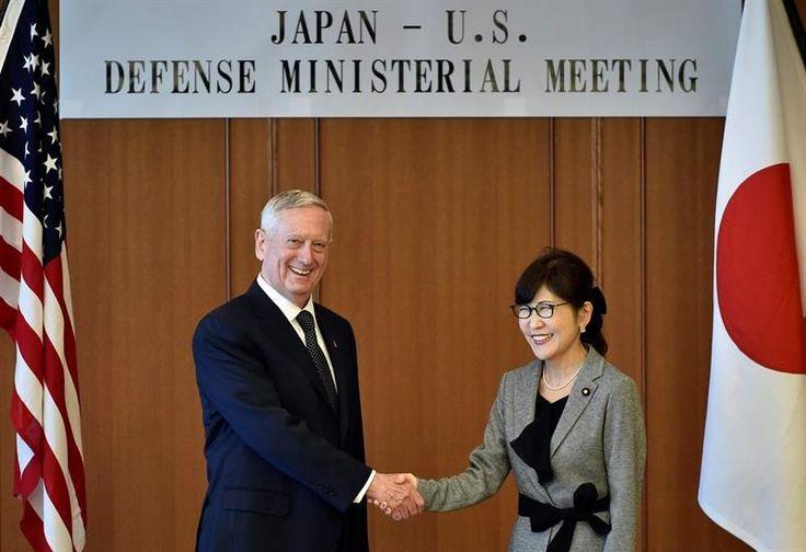 Pekín, 4 feb (EFE).- El Gobierno chino ha pedido a Estados Unidos que no se entrometa en sus disputas de soberanía con Japón, después de que el nuevo secretario de Defensa estadounidense, James Mattis, reafirmara el compromiso de Washington con Tokio en materia de alianzas defensivas.