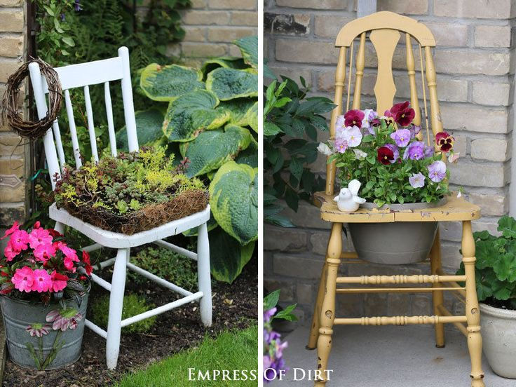 Plant your kitchen chairs