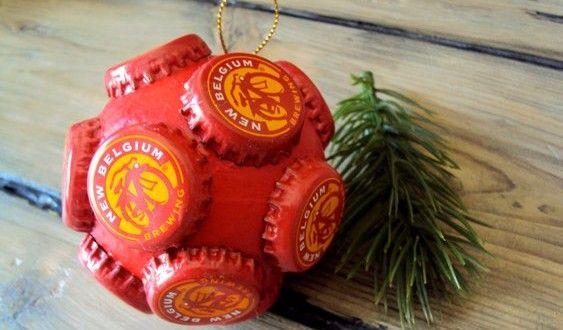 Bolas de Natal com materiais reciclados | Reciclagem no Meio Ambiente