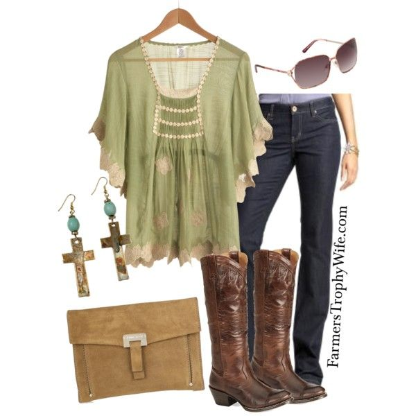 """""""Calgary Stampede Concert"""" by farmerstrophywife on Polyvore"""
