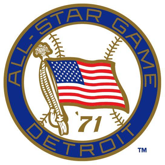 1980 Major League Baseball All-Star Game | MLB All-Star Game Primary Logo - Major League Baseball (MLB) - Chris ...