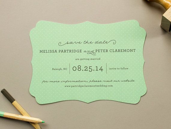 17 best ideas about Save The Date Examples – Wedding Save the Date Websites