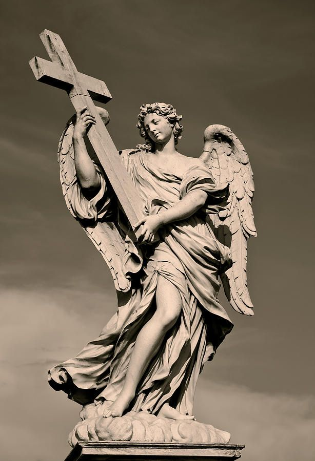 Angel Statue Photograph  - Angel Statue Fine Art Print