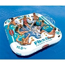Inflatable 8 Person Party Raft!!!! Looks like I need to save some money for this summer so I can be partying it up in this thing!
