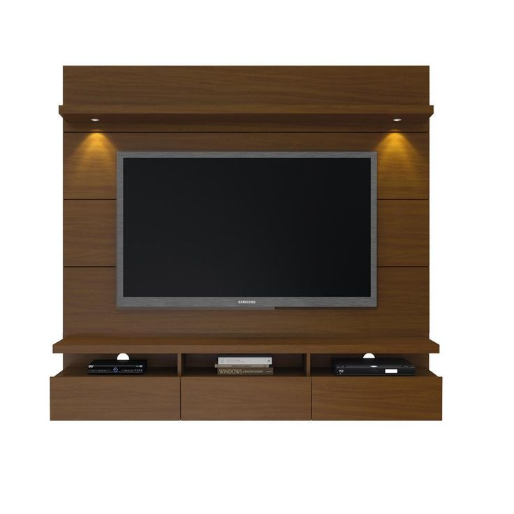 Manhattan Comfort Cabrini 1.8 Floating Wall Theater Entertainment Center