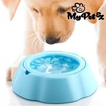 Don't miss out on the My Pet Frosty Bowl pet's water bowl to make your pets happy! They 'll have cold water for approx. 8 hours just by putting the removable inner bowl into the freezer for approx. 2 hours. Both dogs and cats will have...