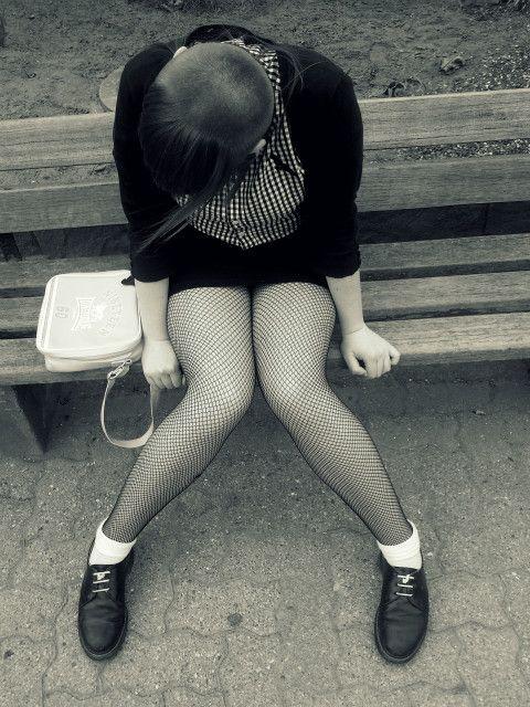 Fringe, cardi, button down, skirt.