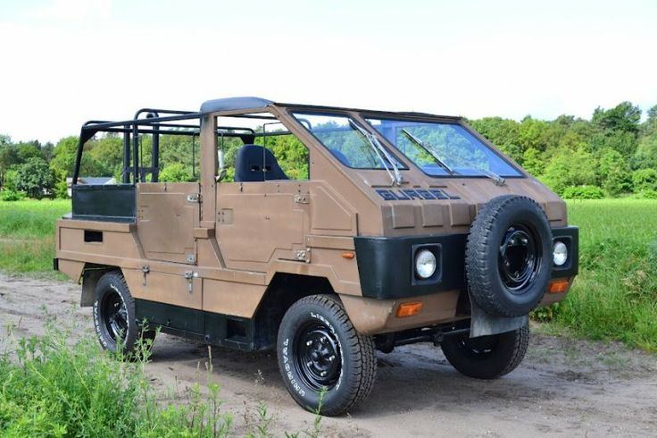 Gurgel X-15, made for the Swiss army only 2 delivered. Unique vehicle based on VW bus technique.