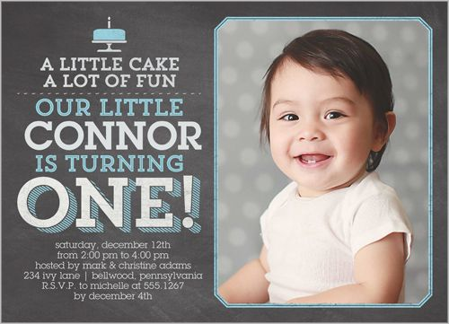 73 best first birthday party images on pinterest invitation cards boys birthday invitations little cake square corners grey stopboris Gallery