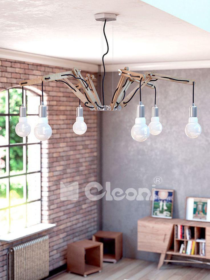 Lampa od Lampdesigne.pl w aranżacji salonu