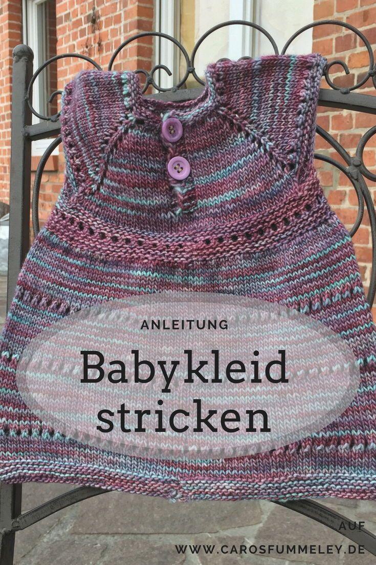Babykleid Wee Susan Kostenlos Stricken Kostenlose Anleitung Für