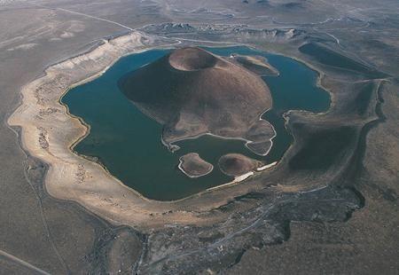 Lake Meke, Konya Province, Central Anatolia, Turkey